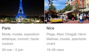 Planifier ses vacances avec Google Destinations