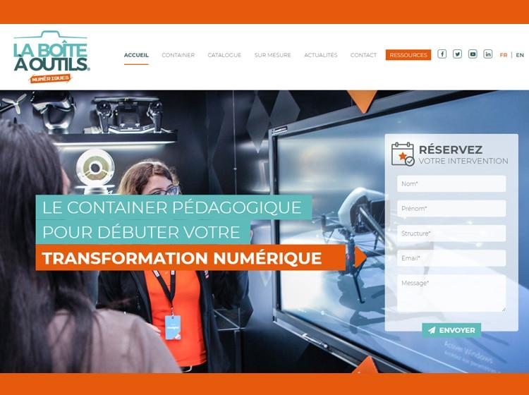 Projet La boîte à outils numériques