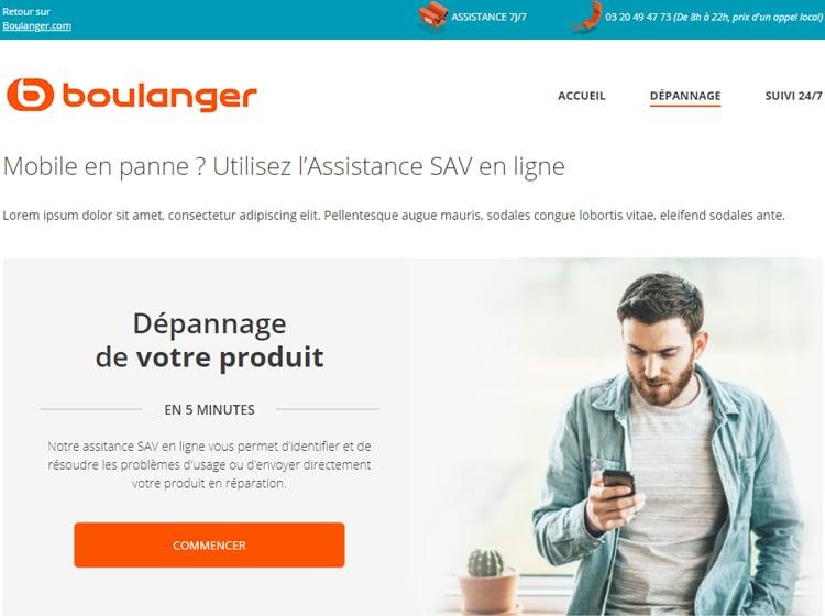 Projet Boulanger
