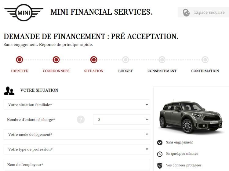 Projet Mini Financement