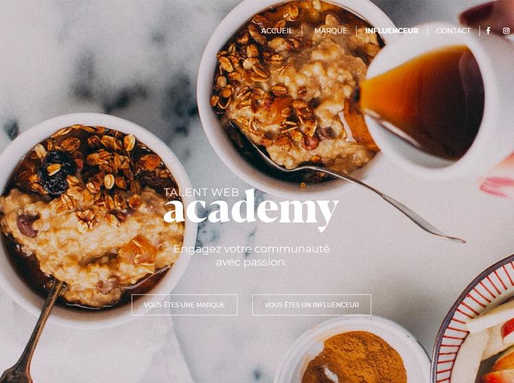 Projet Talent Web Academy
